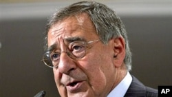 US Defense Secretary Leon Panetta (file photo)