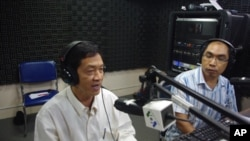 "Professor Sum Chhum Bun, director of Asia research at the Cambodian Royal Academy, on ""Hello VOA"" Monday."