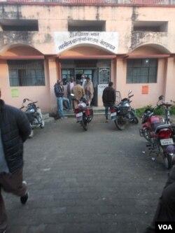 اتر پر دیش کے علاقے مہنداول میں تحصیل کا ایک دفتر