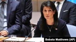 Duta Besar Amerika untuk PBB Nikki Haley