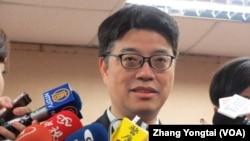 资料照:台湾陆委会副主委邱垂正