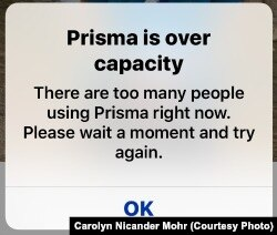Prisma is busy