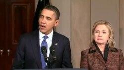 پرزيدنت اوباما سرکوب خشونت آميز معترضين در ليبی را محکوم کرد