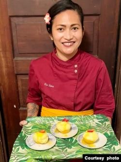 Rie Sims, pendiri sekaligus koki restoran Warung RieRie di San Diego, California (dok: Rie Sims)