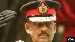 Mantan panglima militer Sri Lanka, Jenderal Sarath Fonseka (foto dokumentasi).