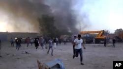 利比亞大批囚犯越獄