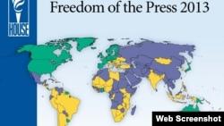 Relatório da Freedom House