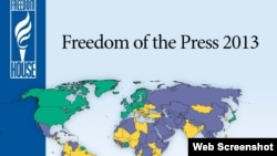 Phúc trình về Tự do Báo chí 2013 của Freedom House