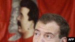 Дмитрий Медведев в Центральном музее вооруженных сил