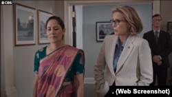 ڈرامہ سیریل 'میڈم سیکرٹری' کا ایک منظر