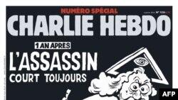 Tabloid Charlie Hebdo menandai setahun tragedi penembakan brutal di kantornya dengan merilis edisi khusus ini (Foto: dok).