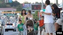 Di Amerika diperkirakan ada sekitar 12 juta imigran gelap, sebagian besar dari etnis hispanik (foto: dok).