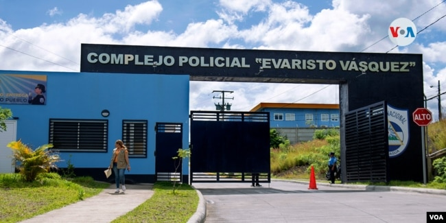 Lesther Alemán se encuentra en una celda de máxima seguridad en Managua. Foto Houston Castillo, VOA.