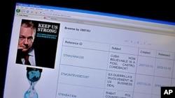 امریکہ کی جانب سے وکی لیکس کے تازہ انکشافات کی مذمت