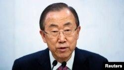 Sekjen PBB Ban Ki-moon prihatin akan bahaya langsung kekejaman massal di Republik Afrika Tengah (foto: dok).