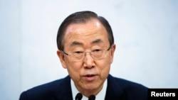 반기문 유엔 사무총장 (자료사진)