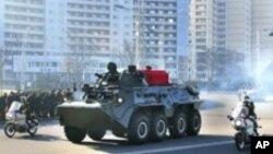 南韓:北韓加強軍事力量