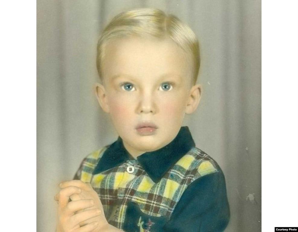童年的唐納德·川普。 川普在1946年6月14日出生於紐約。