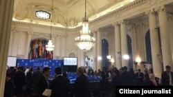 La 45 Asamblea General de la OEA en la sede del organismo en Washington, D.C.