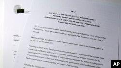 Nacrt predloga za reformu EU koji je uputio predsednik Evropskog saveta Donald Tusk
