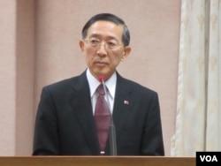 台灣外交部長林永樂(美國之音張永泰拍攝)
