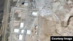 ایران کی تنانز جوہری تنصیب کا فضائی منظر