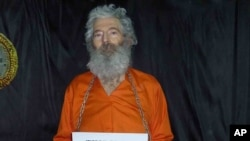 This undated handout photo provided by the family of Robert Levinson, shows retired FBI agent Robert Levinson who went missing on the Iranian island of Kish in March 2007.