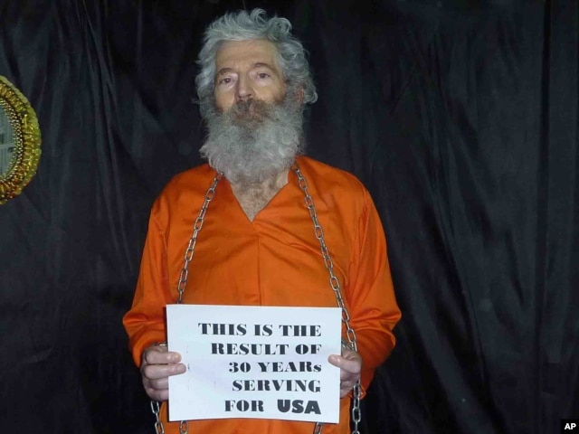 This undated handout photo provided by the family of Robert Levinson, shows retired-FBI agent Robert Levinson. Levinson, 64, went missing on the Iranian island of Kish in March 2007.