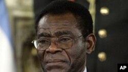 非盟輪值主席赤道几內亞總統特奧多羅.奧比昂.恩圭馬(圖)。