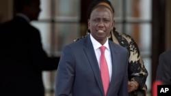 FILE - Kenya's Deputy President William Ruto in Nairobi, Kenya, July 25, 2015.