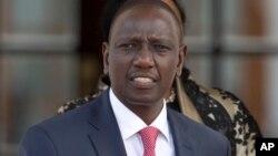 William Ruto mataimakin shugaban kasar Kenya da kotun kasa da kasa ta yi watsi da tuhumar da ake yi masa