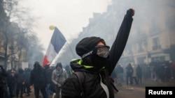 Manifestations, à Paris, France, le 5 décembre 2019. REUTERS