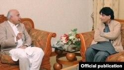 وفاقی وزیرداخلہ اور بلوچستان کے وزیر اعلیٰ کی ملاقات