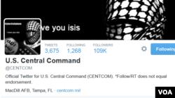 La cuenta de Twitter del Comando Central de EE.UU. habría sido hackeada por el Estado islámico.