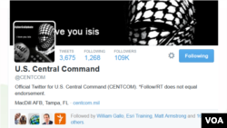 ISIS - Hack of Centcom