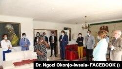 Dr. Ngozi Okonjo-Iweala lokacin yakin neman zabe