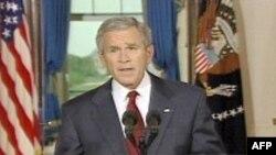 پرزيدنت بوش: آمريکا و همپيمانانش بايد همچنان عليه افراط گرايان قاطعيت خود را حفظ کنند
