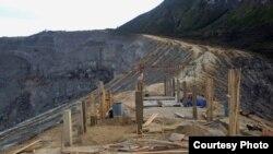 Pembangunan fasilitas publik di puncak gunung Ijen, Banyuwangi, Jawa Timur (Foto courtesy: Sea Soldier Banyuwangi).