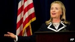 Госсекретарь США Хиллари Клинтон. Владивосток. 9 сентября 2012 г.