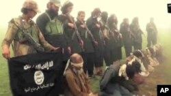 Wasu mayakan ISIS su na aiwatar da nasu irin hukumcin