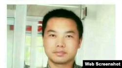 """網絡短視頻最火視線""""新媒体矩陣""""的記者王濤 (推特照片)"""