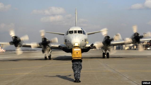 Máy bay trinh sát P-3 Orion của Mỹ.