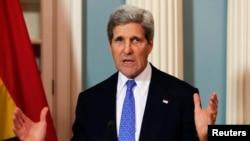 美國國務卿克里(資料圖片)