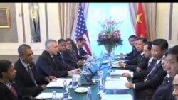 2013-09-06 美國之音視頻新聞: 奧巴馬與習近平在G20會議期間會面
