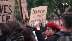 Strasburqda irqçilik və polis zorakılığına qarşı etirazlar
