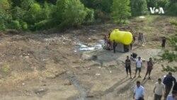 VIDEO: Vučjak - migranti na bivšem smetljištu
