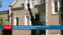 Özgürlük Anıtı'nın Küçük Modeli Washington'da