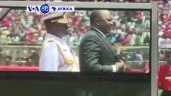 Uhuru Kenyatta Yarahiriye Indi Manda