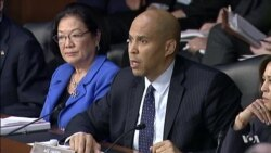 Sen. Cory Booker at US DHS Hearing