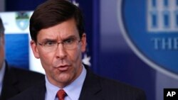 Menteri Pertahanan AS, Mark Esper